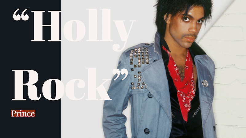 Prince - Holly Rock photo + Bong Mines Entertainment