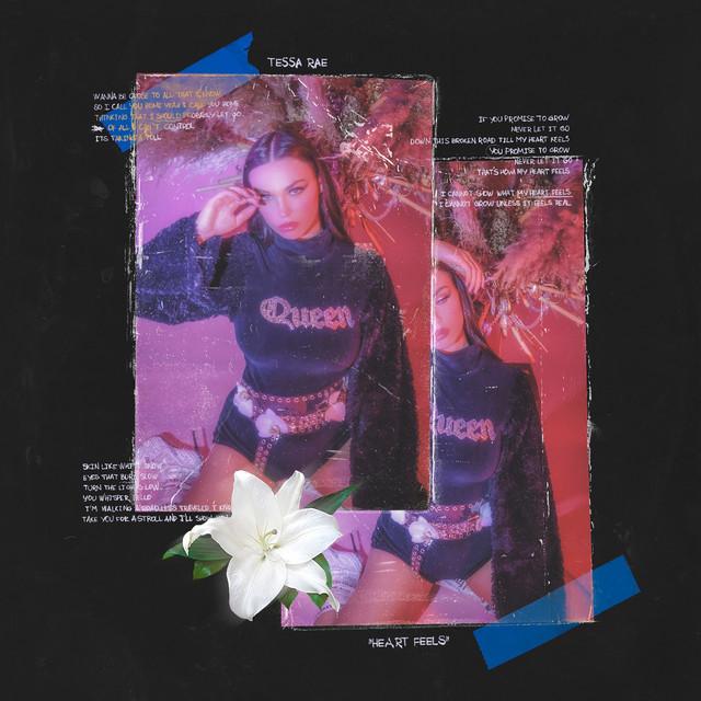 "Tessa Rae - ""Heart Feels"" cover art"