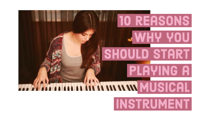 10 reasons why you should start playing a musical instrument photo