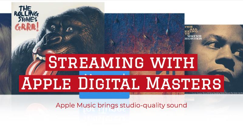 Apple Digital Masters + Apple Music + Bong Mines Entertainment