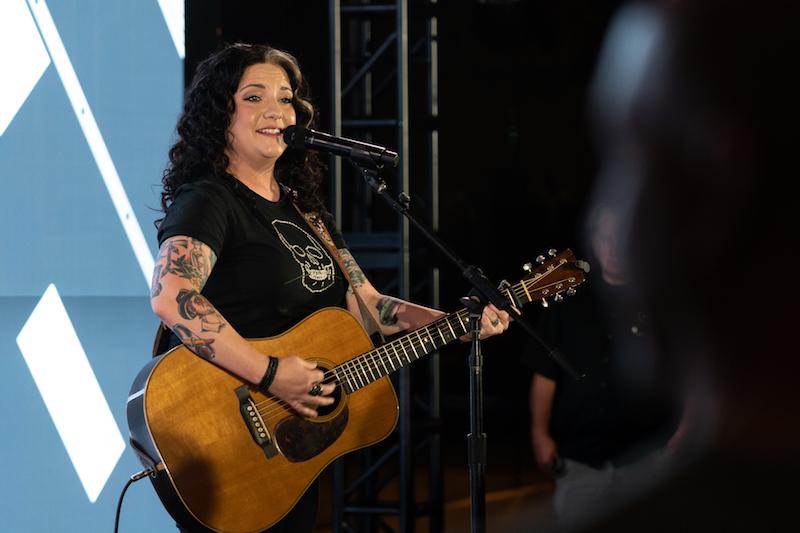 Ashley McBryde press photo Greg Noire + Apple Music's Up Next Live + Stage