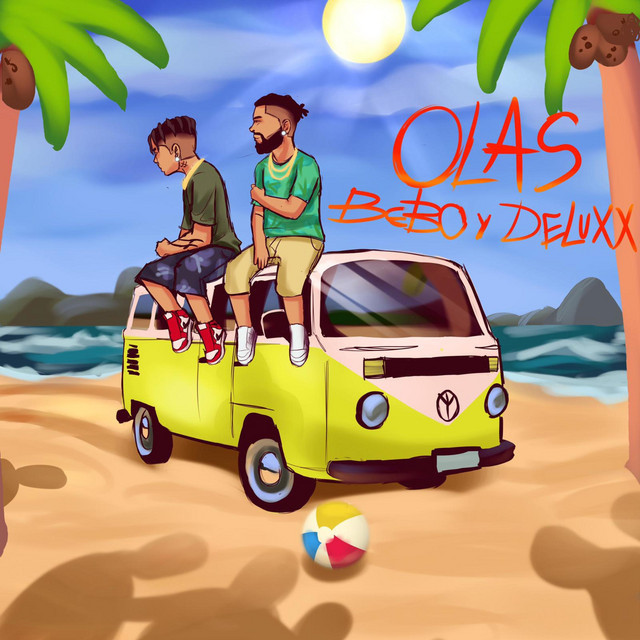 "Bebo & Deluxx – ""Olas"" cover art"