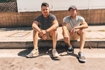 Benji Reyes and Dylan Bernard press photo