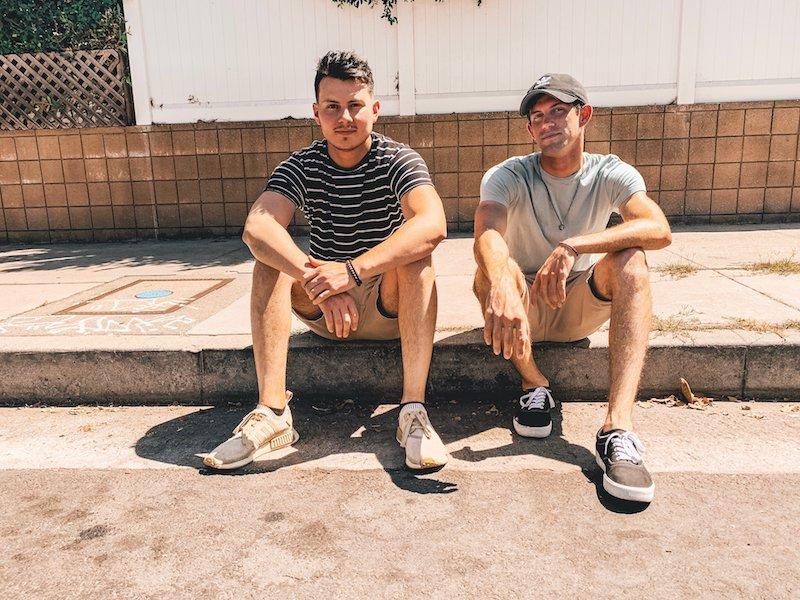 Benji Reyes and Dylan Bernard press photo