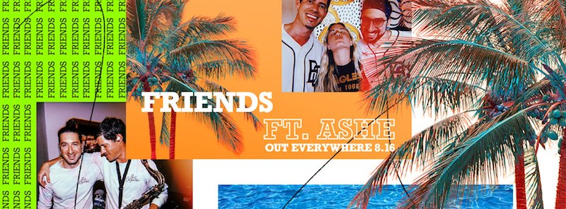 """Big Gigantic – """"Friends"""" featuring Ashe banner"""