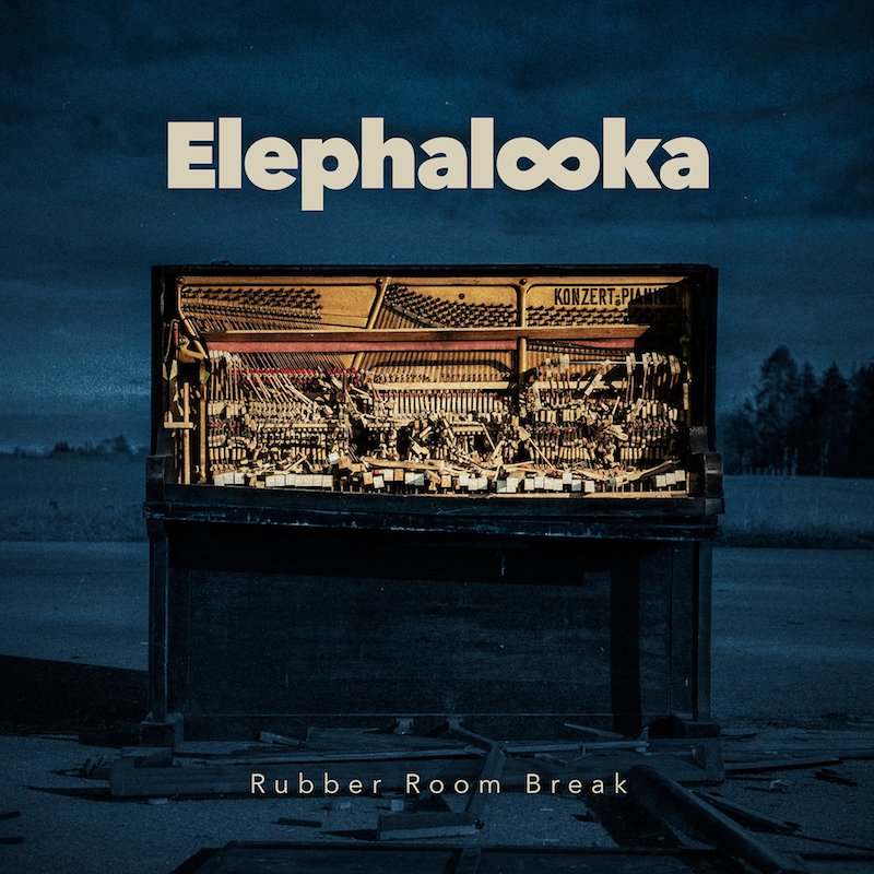"Elephalooka - ""Rubber Room Break"" EP cover"