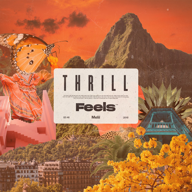 "Feels - ""Thrill"" cover art"