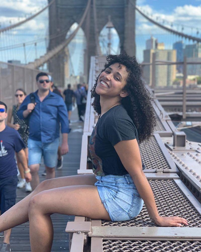 Hayley Nyota in Brooklyn, New York