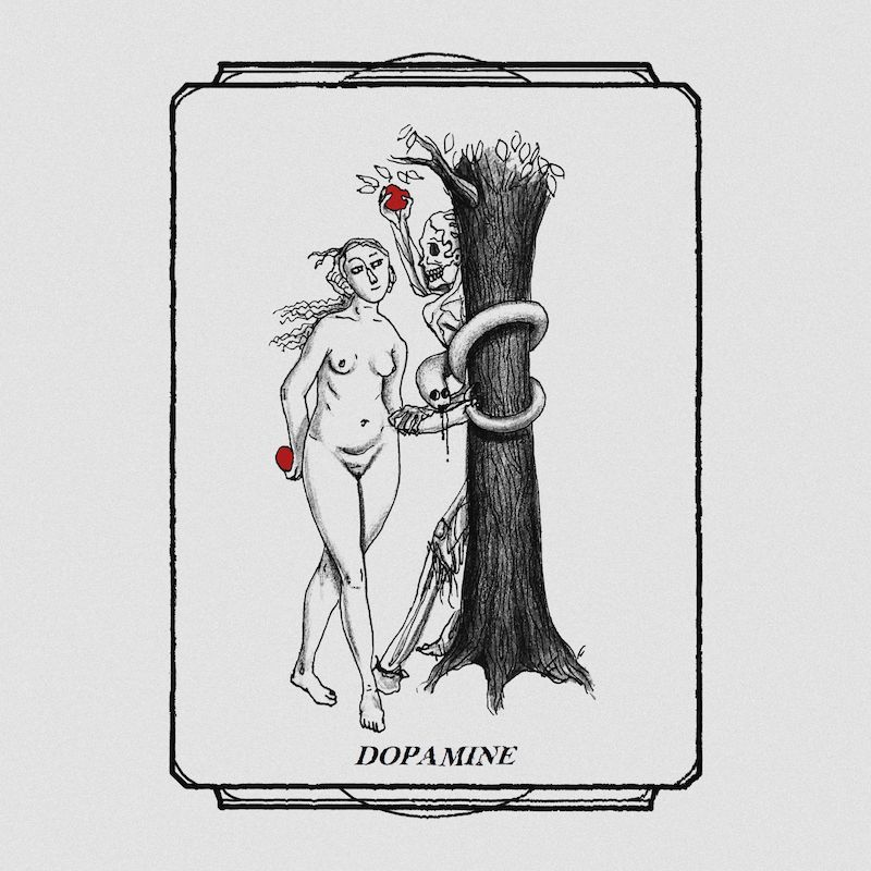 Jill Blutt + Dopamine cover art