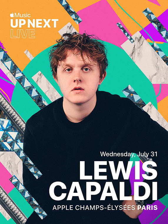 Lewis Capaldi + Apple Apple + Music Up Next Live
