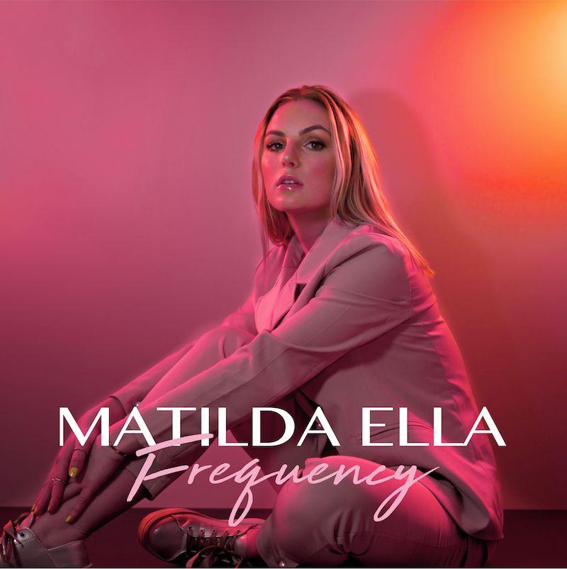 "Matilda Ella - ""Frequency"" cover art"