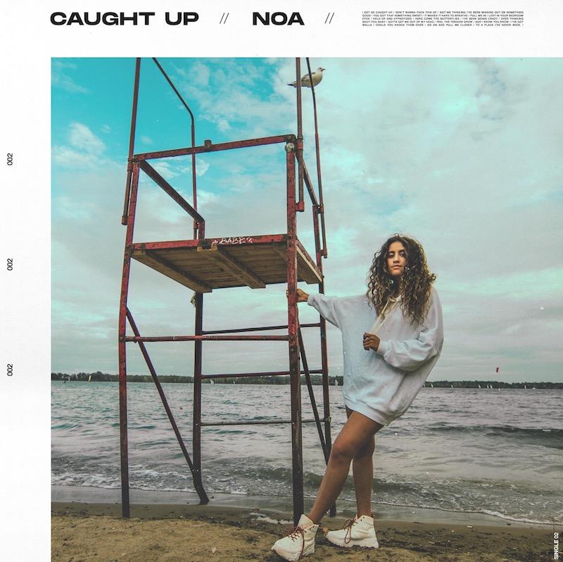NOA - Caught Up cover + Photography by Zeebra Media + Graphic Design by Zanski