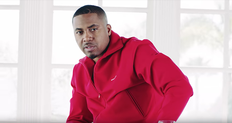 Nas + No Bad Energy video photo + Bong Mines Entertainment