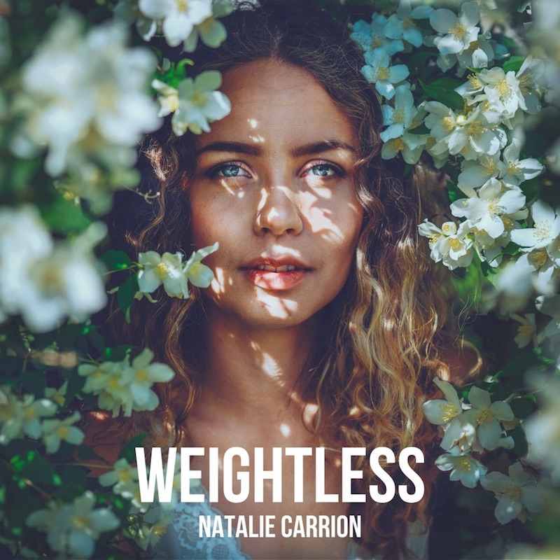 Natalie Carrion + Weightless cover