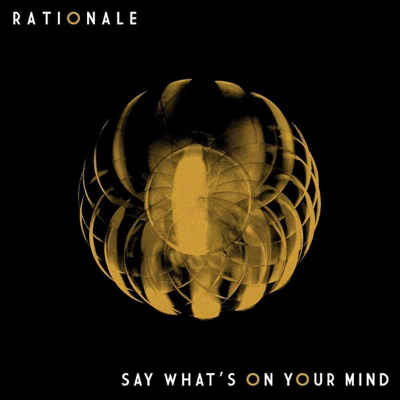 "Rationale - ""Say What's on Your Mind"" cover art"
