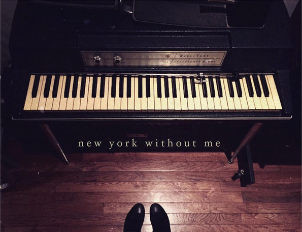 """Sara Phillips - """"New York Without Me"""" cover art"""