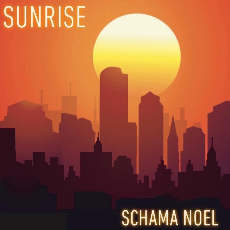 """Schama Noel - """"Sunrise"""" cover art"""