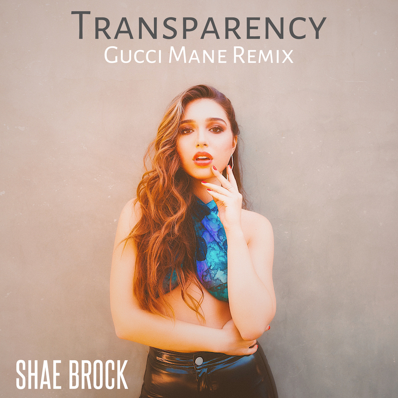 Shae Brock - Transparency cover