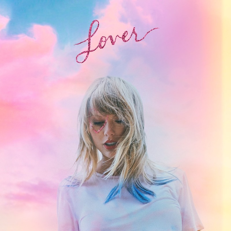 "Taylor Swift - ""Lover"" cover art"