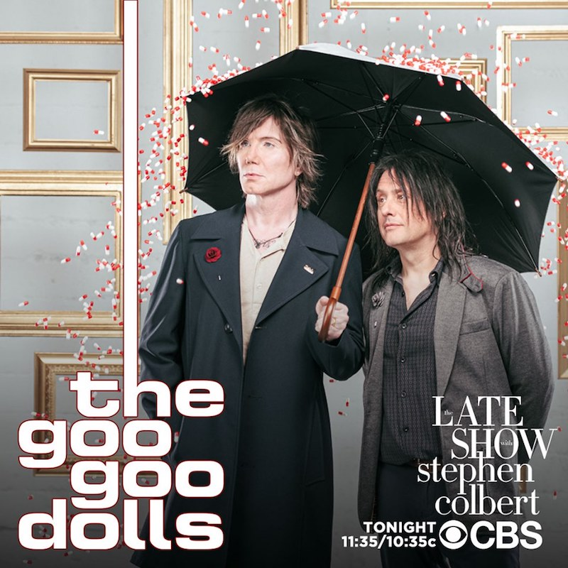 "The Goo Goo Dolls perform their ""Miracle Pill"" single"