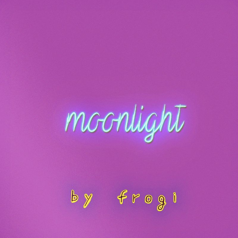 "frogi - ""moonlight"" cover art"