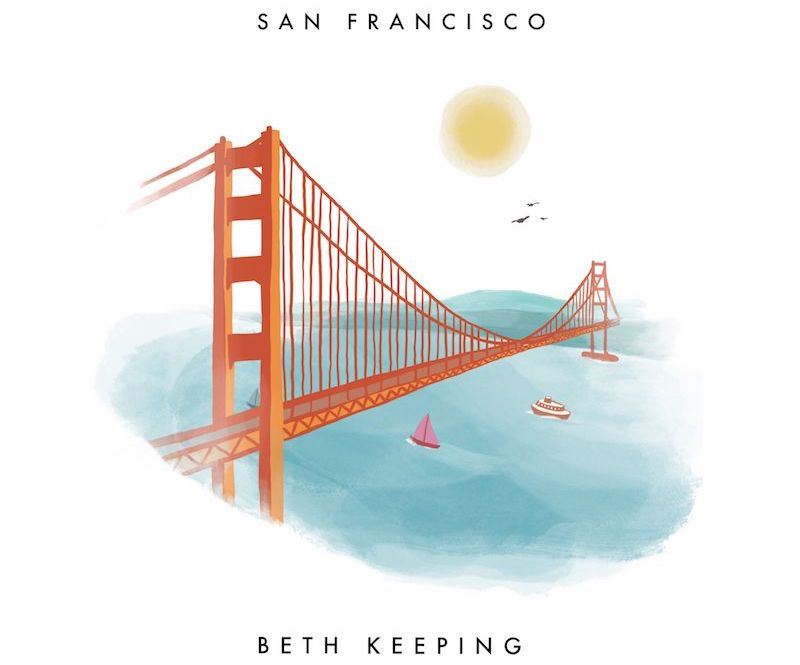 "Beth Keeping - ""San Francisco"" cover"