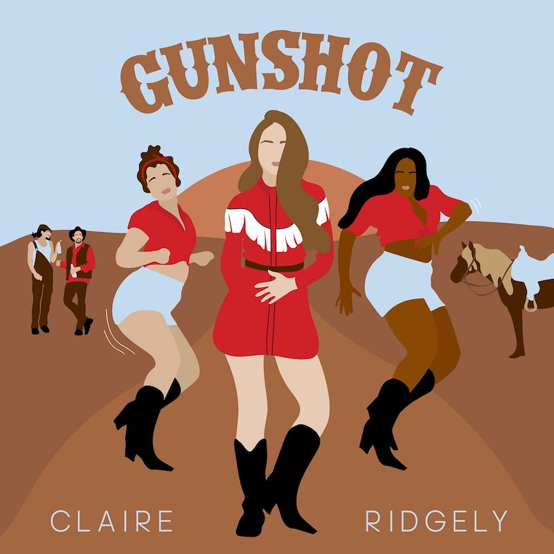 """Claire Ridgely - """"Gunshot"""" + Cover Art by Amy McNeil"""