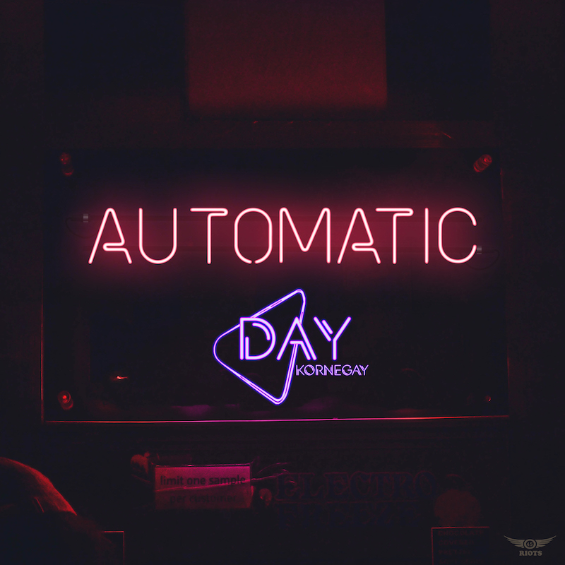 "Day Kornegay – ""Automatic"" cover art"