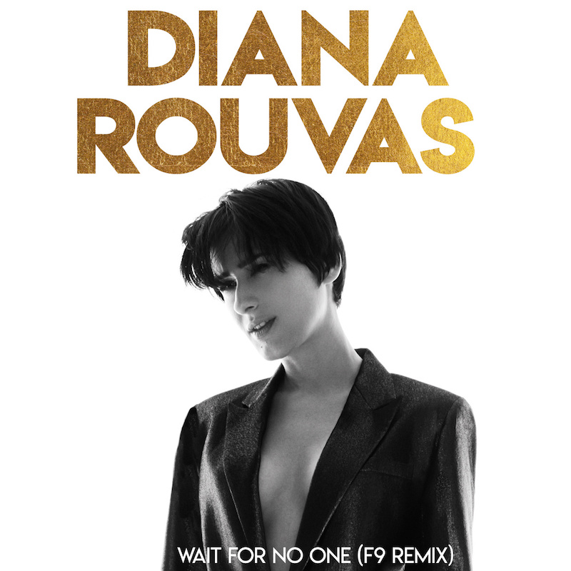"Diana Rouvas - ""Wait For No One (F9 Remix)"" cover"