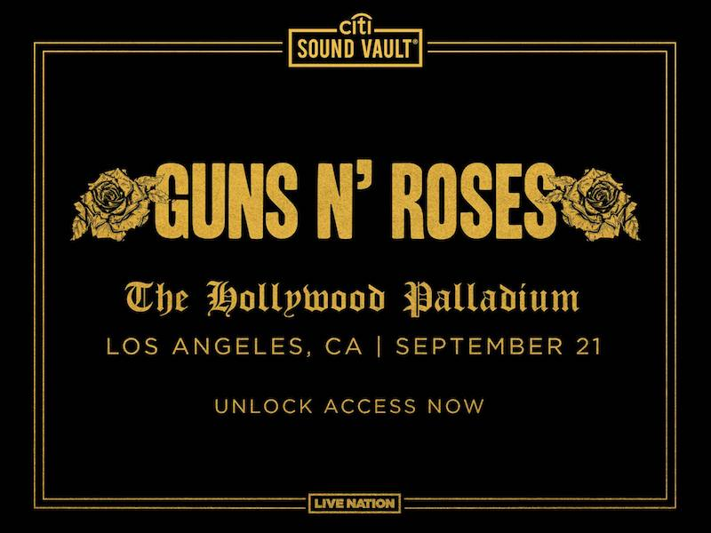 Guns N' Roses + The Hollywood Palladium show