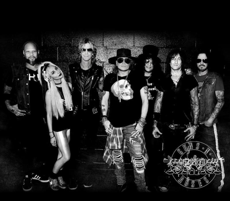 Guns N Roses press photo