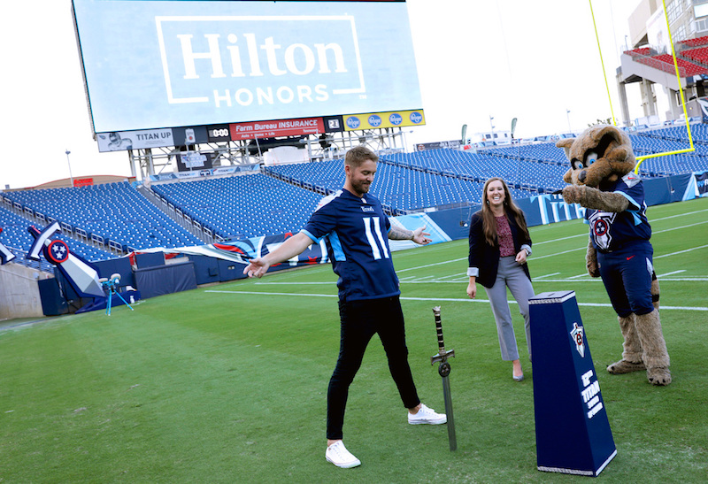 Hilton Honors Members Experience All-Access Exclusive Performance by Brett Young + Photo Credit by Koury Angelo for Getty Images for Hilton