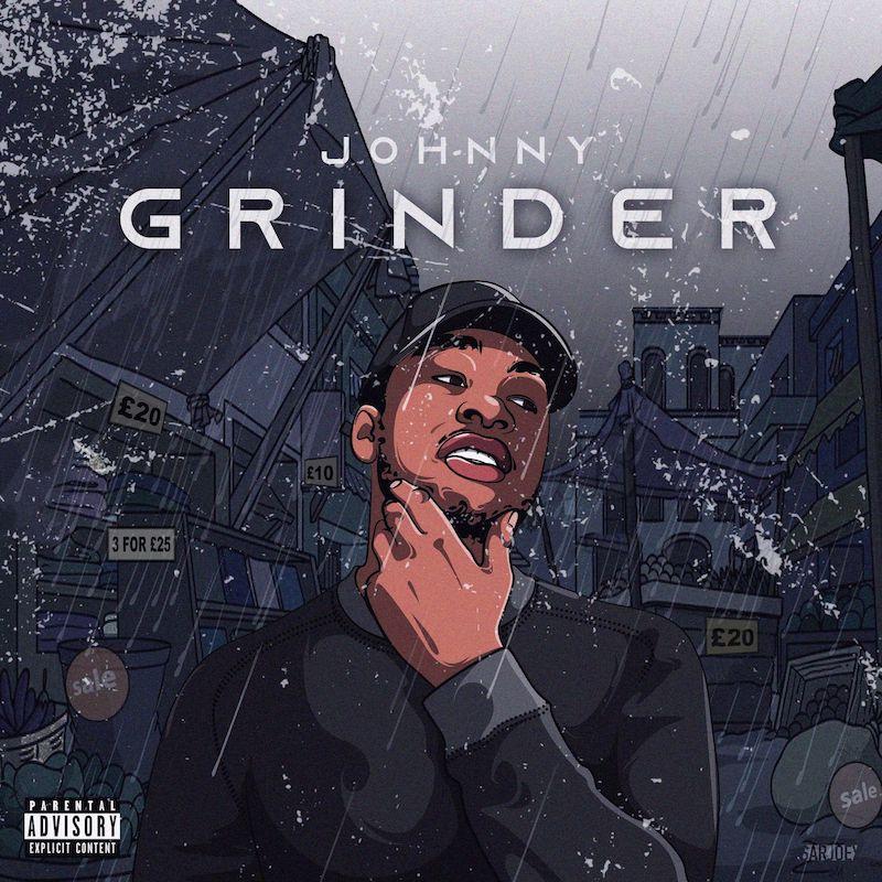 """Johnny - """"Grinder"""" cover art"""