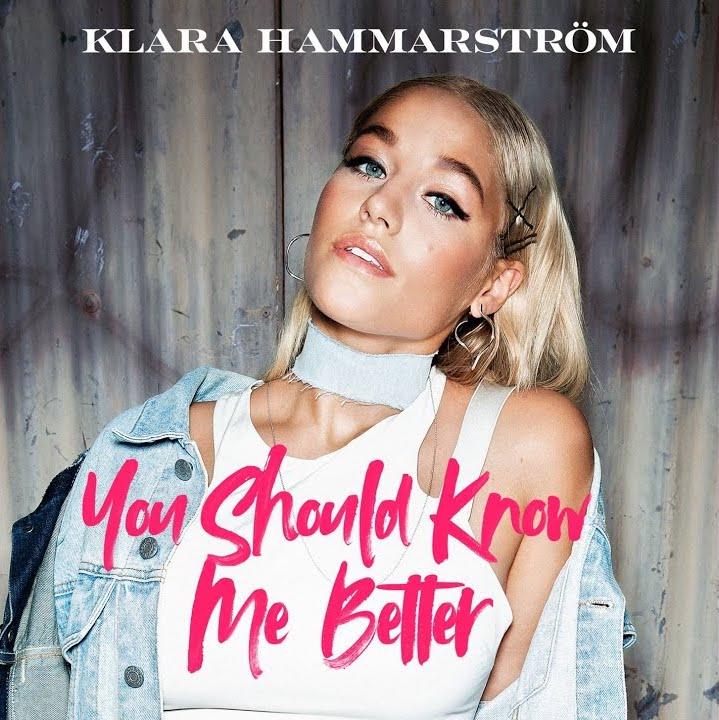 "Klara Hammarström - ""You Should Know Me Better"" cover"