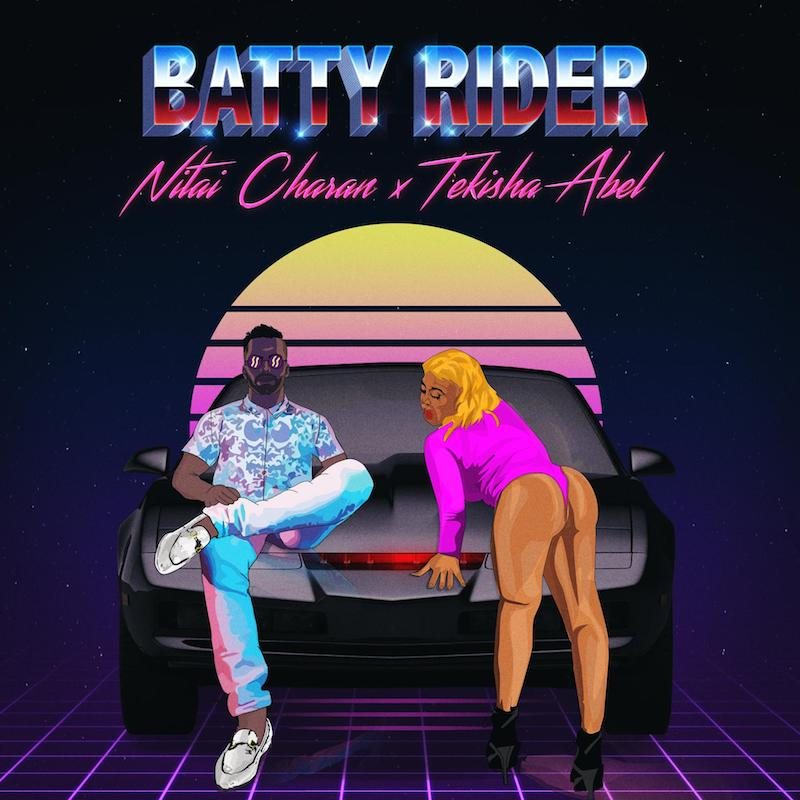 Nitai Charan - Batty Rider (Artwork)