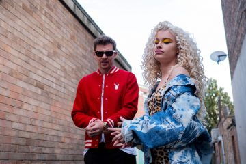 Professor Green + Alice Chater press photo