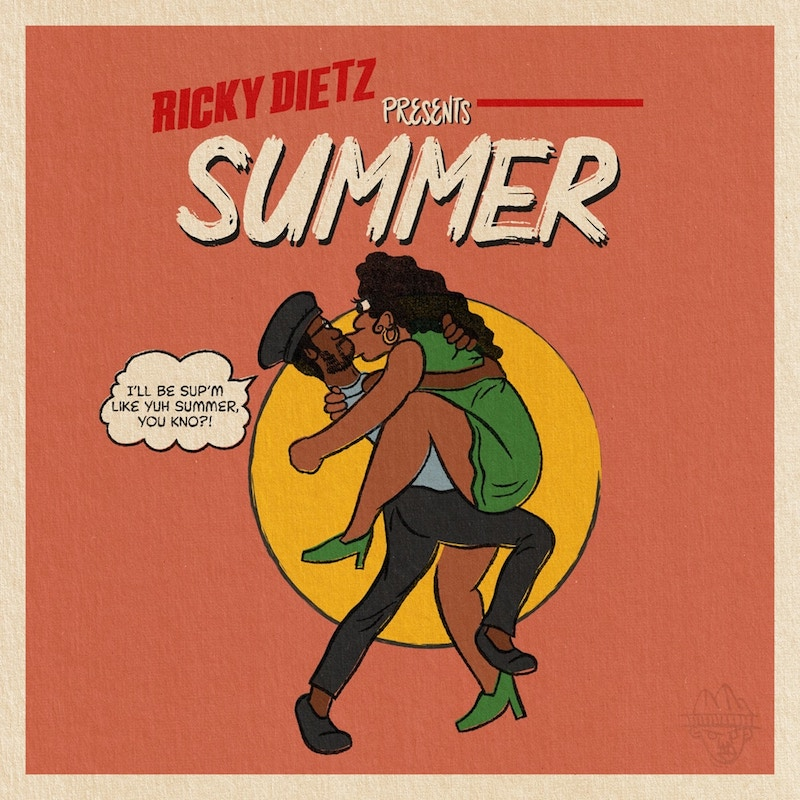"Ricky Dietz - ""Summer"" cover art"