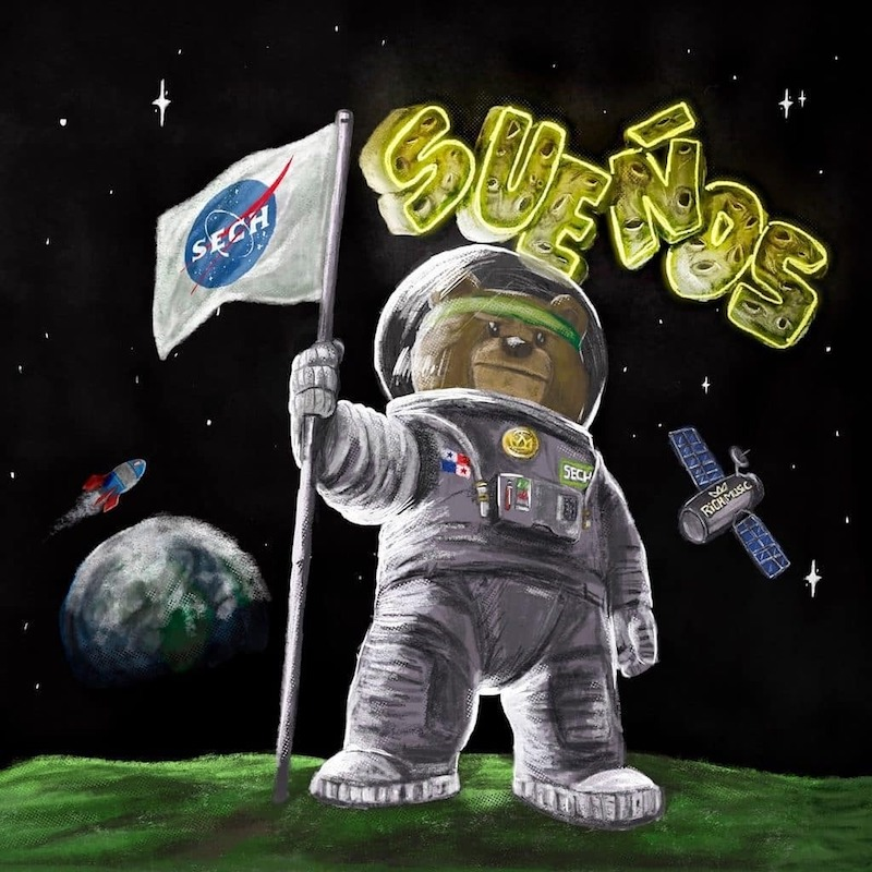 Sech - Sueños album cover art