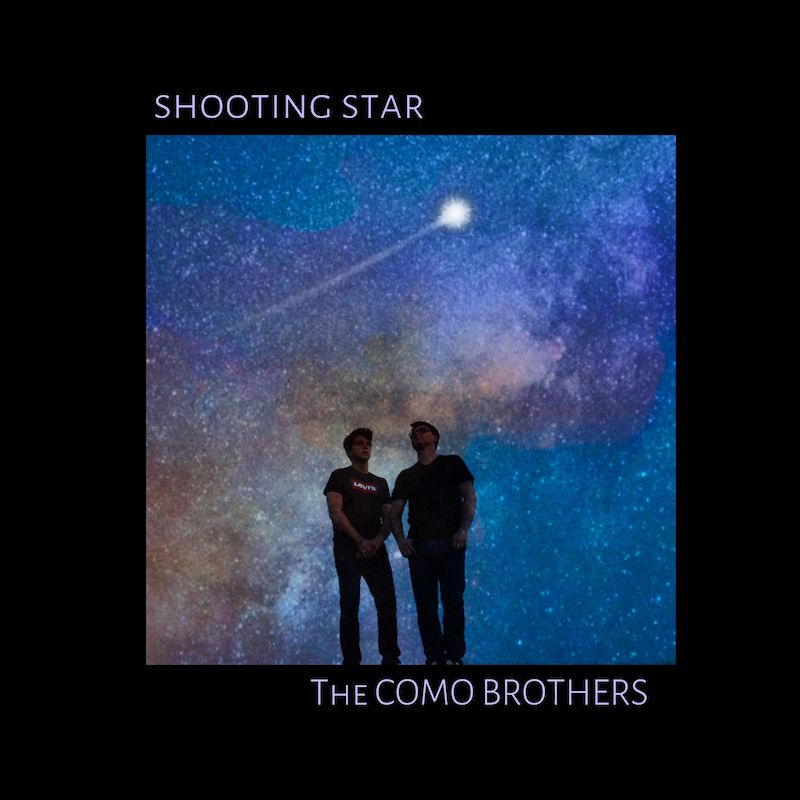 "The Como Brothers - ""Shooting Star"" cover art"