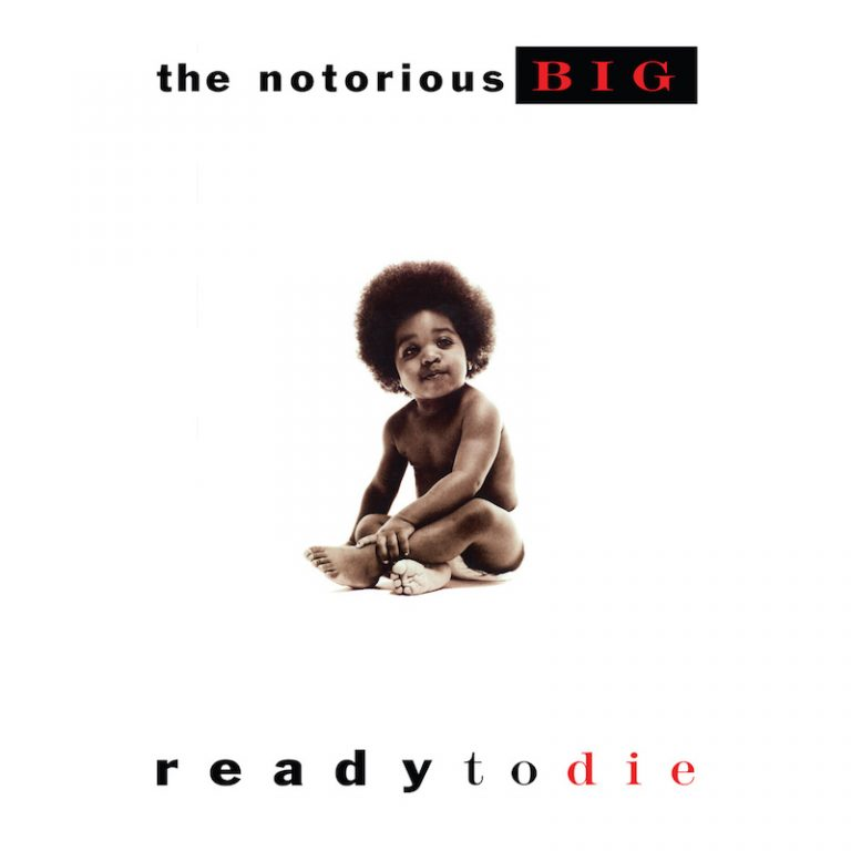 "The Notorious B.I.G. - ""Ready to Die"" cover art"