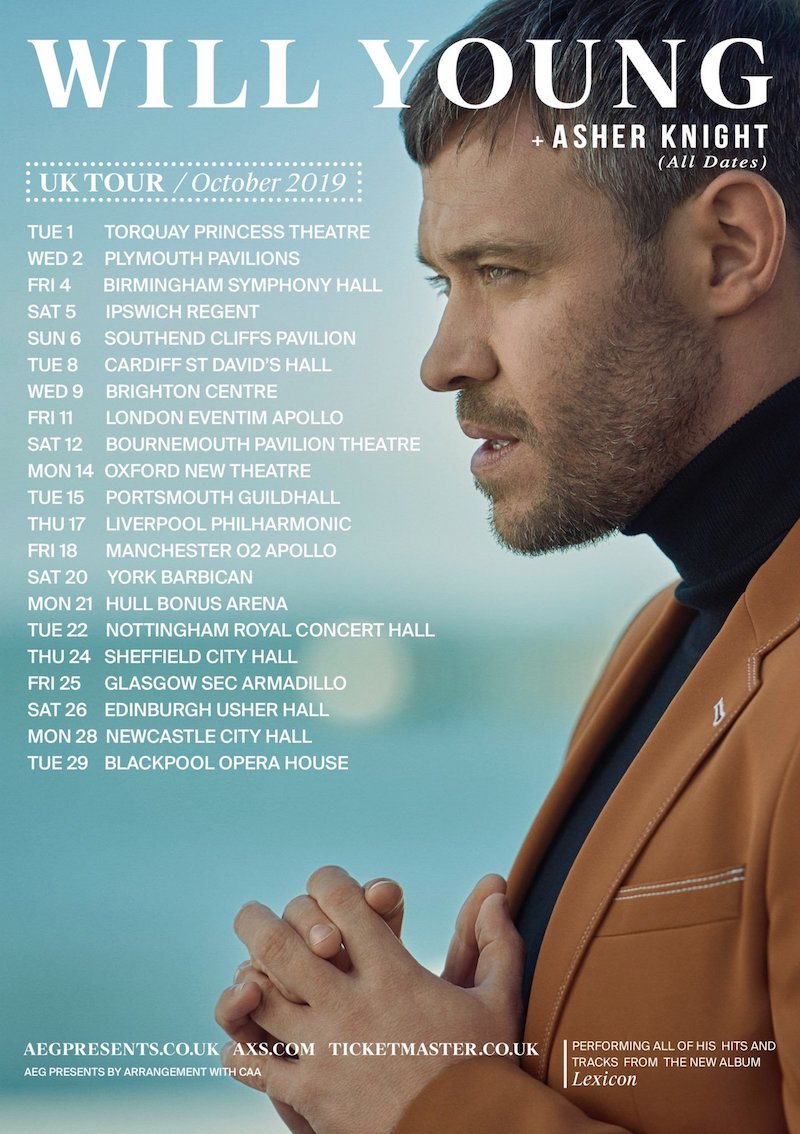 Asher Knight + Will Young + Tour dates