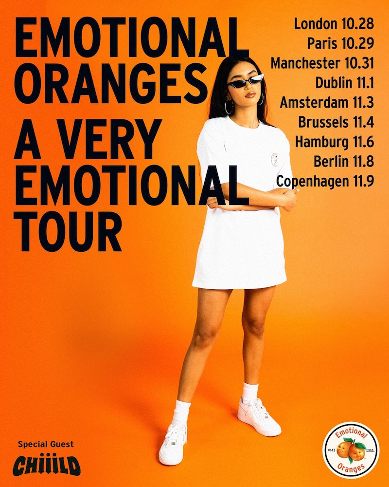 Emotional Oranges - A Very Emotional Tour, UK