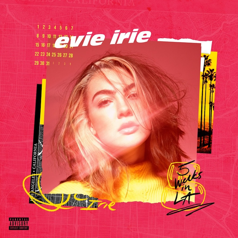 """Evie Irie - """"The Optimist"""" cover"""