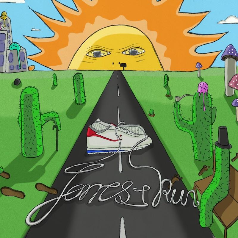 """Forrest Run - """"Blue Air"""" cover"""