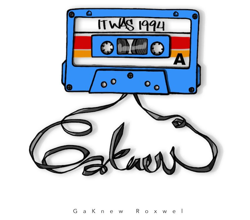 "GaKnew Roxwel - ""It Was 1992"" cover"