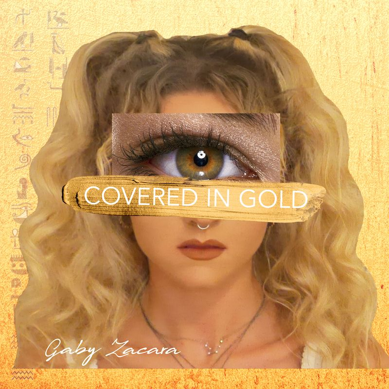 """Gaby Zacara - """"Covered In Gold"""" cover"""