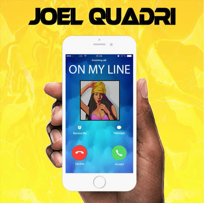 "Joel Quadri - ""On My Line"" cover"