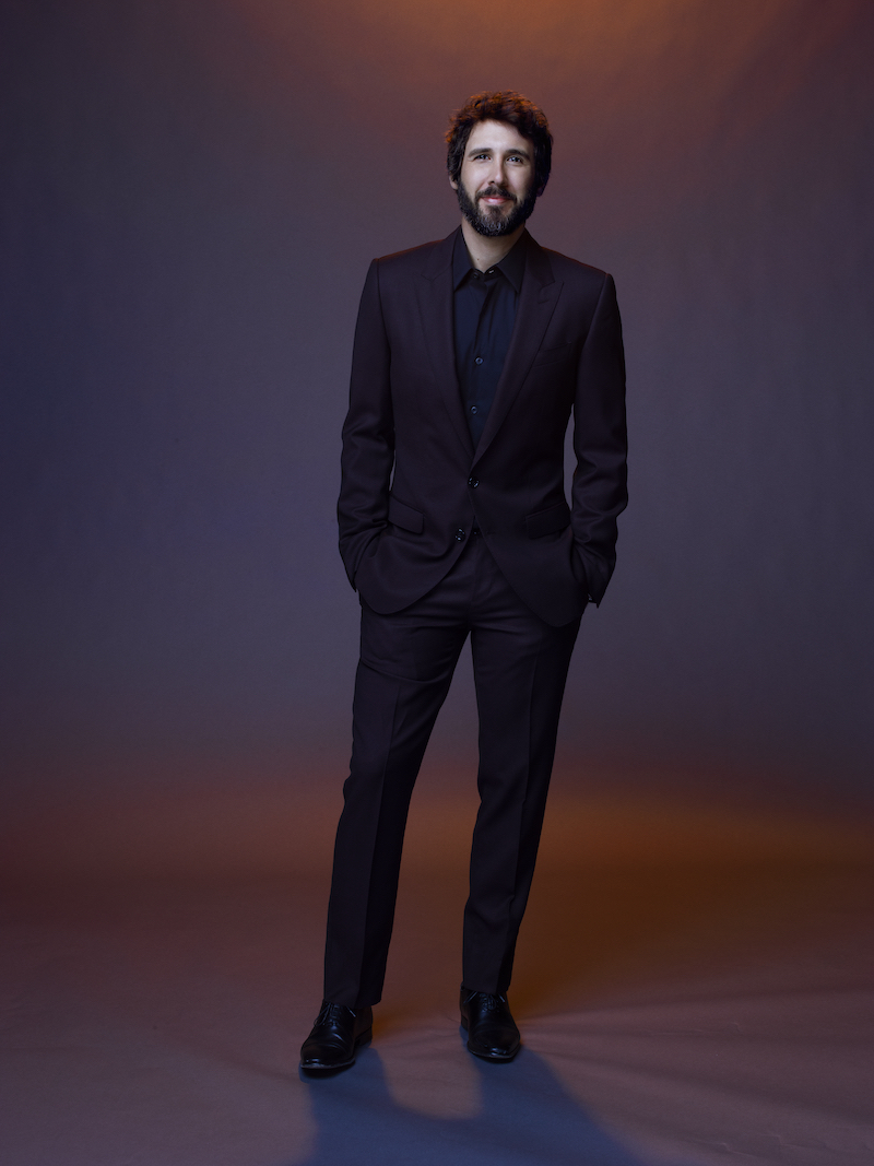 Josh Groban. Photo by Andrew Eccles