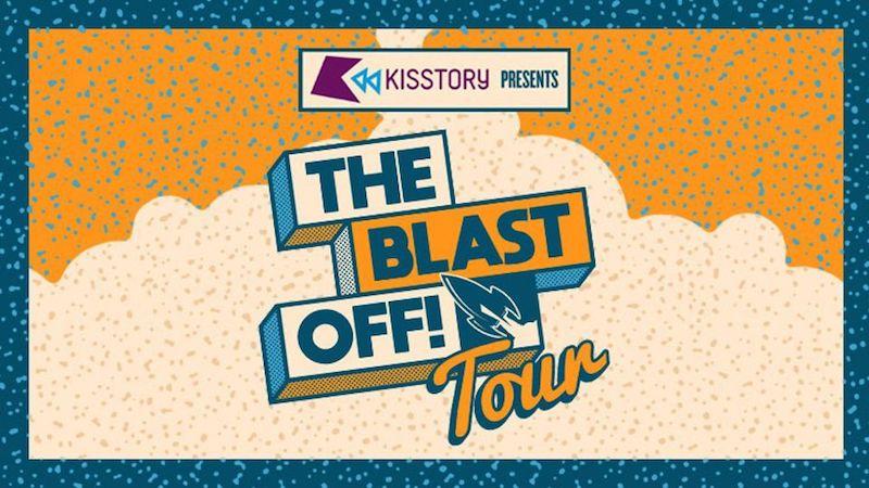 KISSTORY - The Blast Off Tour banner