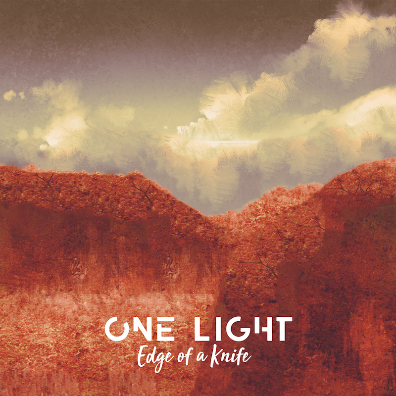 One Light + edge of a knife cover
